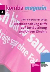 kombamagazin April 2018 (Titelbild: © Fabian Berg)